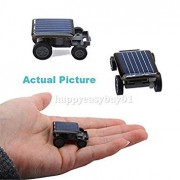 Tradico® Eco Solar Powered Robot Racing Car Vehicle Educational Gadget Kids Baby Gift H1