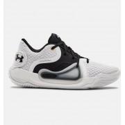 Under Armour Men's UA Spawn 2 Basketball Shoes White 11/12.5