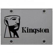 Твърд диск Kingston 120GB, SSDNOW UV500, SATA 3, 2.5 инча. SUV500/120G