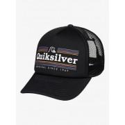 Quiksilver Jetty Crocker - Gorra Trucker para Hombre - Negro - Quiksilver