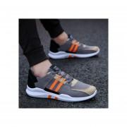 Nuevo color a juego de moda salvaje casual deportivo zapatos de los hombres-Naranja