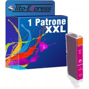 Tito-Express PlatinumSerie PlatinumSerie® 1x inktcartridge XXL voor Canon CLI-551XL Magenta Canon Pixma IP7250 MG5450 MG6350 MX725 MX925
