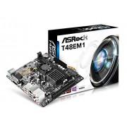 ASRock moederbord Asrock t48em1 t48e apu ITX D-SUB/HDMI DDR3 [90-mxguq0-a0uayz]