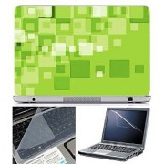 FineArts Laptop Skin Abstract Series 1045 With Screen Guard and Key Protector - Size 15.6 inch