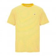 Tommy Jeans T-shirt Uomo Classics All Over, Taglia: M, Per adulto Uomo, Giallo, DM0DM05515704