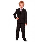 Luxe jongens kostuum zwart- 86