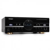 AMP-218 Amplificador Home Cinema HiFi600Wmax-Preto