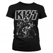 Kiss - Hottest Show On Earth Girly Tee
