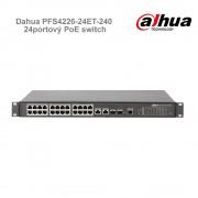 Dahua PFS4226-24ET-240 24portový PoE switch