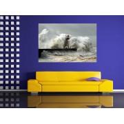 """Tablou grand canvas """"furtuna in port"""" - cod Z37"""