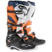 Alpinestars Tech 7 Black / Orange / White / Blue