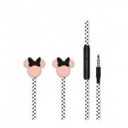 Disney sztereo headset - 3D Minnie 3,5mm jack fekete