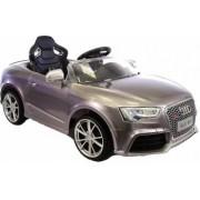 Masinuta electrica 12 V Audi RS5 cu telecomanda Silver
