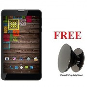 IKALL N5 (Dual Sim 7 inch 2GB RAM 16GB Internal ) 4G calling Tablet with Freebie Phone PoP-up Grip/Stand