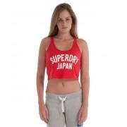 Superdry Cheerleader Top S rot