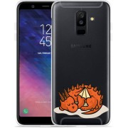 Galaxy A6 Plus 2018 hoesje Sleeping Dragon