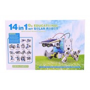 Emob Educational 14 In 1 Solar Power Energy Robot Toy Kit For Learning Purpose