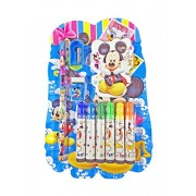 Babysid Collections Stationery Set School Office Mickey(Pack Of 10 )