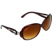 BEING ADAM Over-sized Sunglasses(Brown)