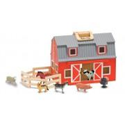 Melissa & Doug Fold & Go Mini Kids Play Barn