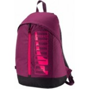 Puma Purple Pioneer II 20 L Backpack(Purple)
