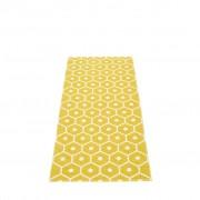 pappelina Honey Outdoor-Teppich - senf / vanille 70 x 160cm