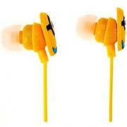 Kuhu Creation Cute Yellow Cartoon Earphone without Mic- 1Pcs