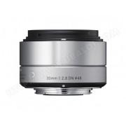 SIGMA Objectif 30 mm f/2.8 DN ART SILVER pour SONY E