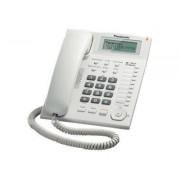 Panasonic KX-TS880EXW - Téléphone filaire avec ID d'appelant - blanc