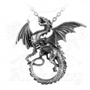 colier The Whitby wyrm - ALCHEMY GOTHIC - P323