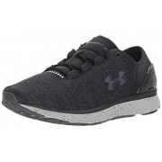 Under Armour Women's Charged Bandit 3 - D Running Shoes, Black/Glacier Gray, 12 B(M) US