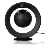 Coluna Bluetooth com Levitação Magnética e LED Luz de Noite - Preto
