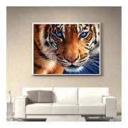 30*35cm Tiger BORDADO Bordado Bricolaje Chapado De Diamantes Completo 5D PINTURA