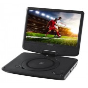 "Denver MT-783NB Portable DVD player Convertibile Nero 17,8 cm (7"")"