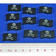 Jolly Roger Pirate Tokens (10)