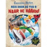 Reis door de tijd: Naar de haaien! - Geronimo Stilton