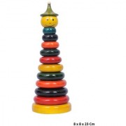 Feel Pride Wooden Stacking Ring Set Educational Toy