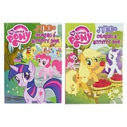 Set of 2 My Little Pony Jumbo Coloring Books - Tear and Share - 96 Pages - Coloring and Activity Book Perfect for any My Little Pony Fan!