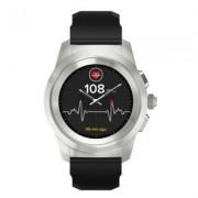 MYKRONOZ Smartwatch ZeTime Oryginal Regular Srebrno-czarny