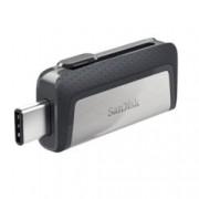 128GB USB Flash Drive, SanDisk Ultra Dual SDDDC2-128G-G46, USB 3.1, USB Type C/USB Type A OTG