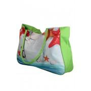 Plážová taška zelená