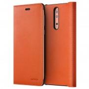 Nokia 8 Leather Flip Case CP-801 - Copper
