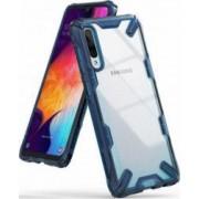 Husa Samsung Galaxy A50 2019 Ringke FUSION X Transparent Albastru