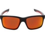 Oakley MAINLINK Rectangular Sunglass(Red)