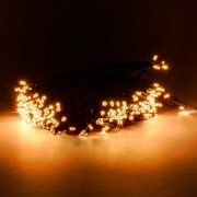 łańcuch świetlny LED decoLED - 40m, 200 ciepłych białych diod LED