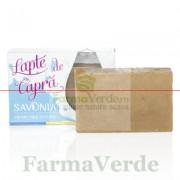 Sapun Natural cu Lapte de Capra si Miere 90 gr Savonia