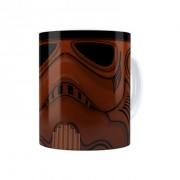Caneca Porcelana Chocolate Star Wars Chocotrooper Branca