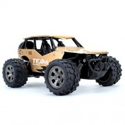 1:18 Remote Control Car Electric Racing Car, All Terrain High-Speed Off Road Desert Buggy Vehicle 2.4Ghz 2WD Remote Control Monster Truck, Best Toy Car for Kids and Adults