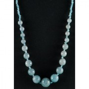 Just Women Genuine Agate Necklace