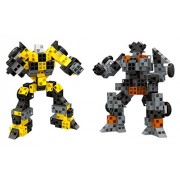 Super Megabot Robot Brick Clicks Building block 263 Pcs toy set for 3+ preschool kids - Follow the instructions or create whatever your mind can possibly imagine